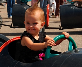 Kids get fun rides at Iron Country Fair, Parowan, Utah