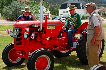 Iron Country Fair, Parowan, Utah tractor show