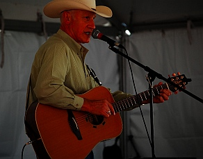 Musical performance at Iron Country Fair, Parowan, Utah