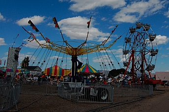 More rides at Iron Country Fair, Parowan, Utah