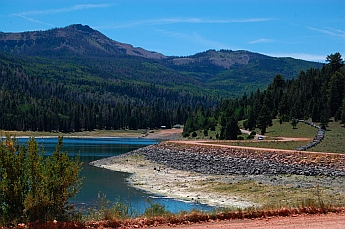 Yankee Meadows Reservoir in Parowan Canyon, Parowan, Utah