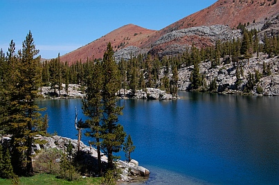 Fulltime RVing at Skelton Lake near Mammoth Lakes CA California