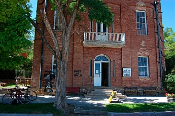 Million Dollar Courthouse in Pioche Nevada