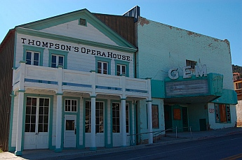 Opera House at Pioche Nevada