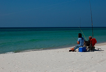 Fishing on the Emerald Coast Sea St. Joseph State Park FL