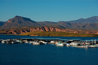 Roosevelt Lake Arizona marina