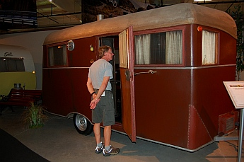 1935 Covered Wagon Travel Trailer