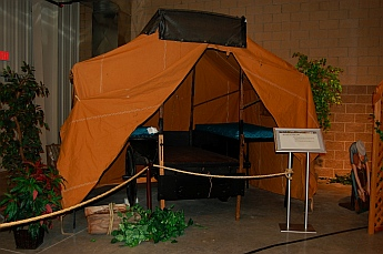 1916 Cozy Camp Tent Trailer