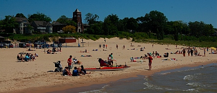 South Haven Michigan beach
