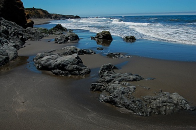 Gorgeous beaches at Westport-Union State Park CA California