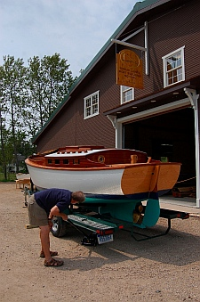 Great Lakes Boat Building School