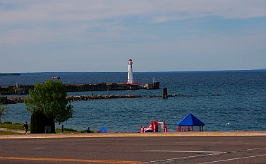 Upper Peninsula St. Ignace Michigan Lighthouse