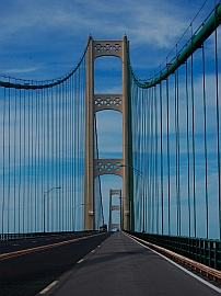 Macinaw Bridge Michigan