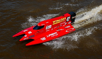 Bay City Michigan hydroplane boat race