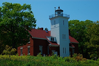Forty Mile Point Lighthouse Michigan
