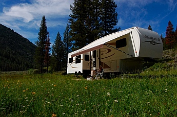 Sawtooth National Recreation Area camping