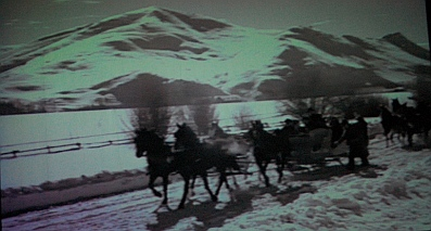 Sun Valley Serenade horse drawn sleds