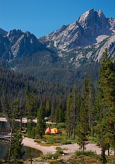 Stanley Idaho campground