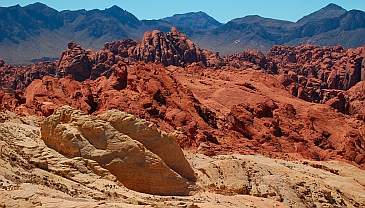 Fire Canyon / Silica Dome overlook, Valley of Fire State Park