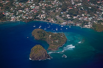 Leaving St. Vincent & The Grenadines and heading for St. Lucia