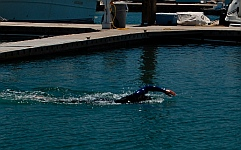 Mexican SAR swimmers train at Hotel Coral & Marina