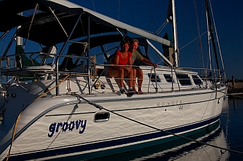 s/v Groovy at Hotel Coral & Marina in Ensenada Mexico