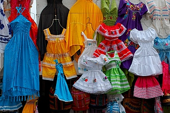 Dresses for sale at La Bufadora, Ensenada
