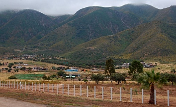 Farmlands on the outskirts of Ensenada