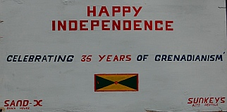 Grenada became independent of Britain February 7, 1974