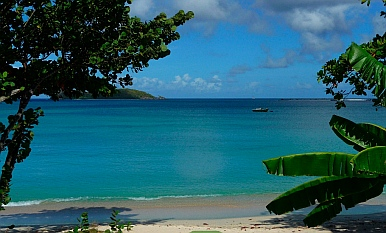 Balcony view, Adam's Eve Apartments Carriacou Grenada
