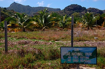 Home of future national park Union Island St. Vincent & The Grenadines