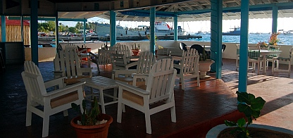 Clifton Harbor Hotel bar, Union Island, SVG