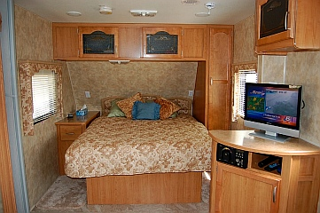 We used the TV a lot in our Fleetwood Prowler Lynx 270 FQS travel trailer when we lived in that RV fulltime
