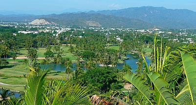 Las Hadas Resort golf course, Manzanillo, Colima, Mexico