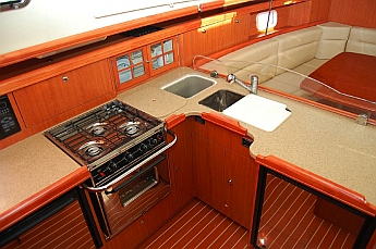 s/v Groovy galley
