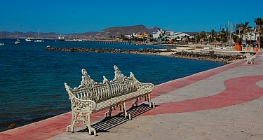 Malecon, La Paz, Baja California Sur, Sea of Cortez, Mexico