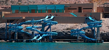 Waterslide, La Paz, Baja California Sur, Sea of Cortez, Mexico
