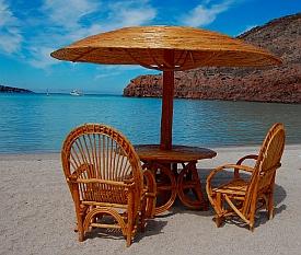 Ensenada Grande, Isla Partida, Islas Espiritu Santos, Baja California Sur, Sea of Cortez, Mexico