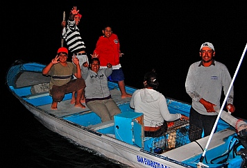 Sea of Cortezl blog - We bought fish at San Evaristo, explored sea caves at Ensenada Ballena, waited out a Norther in Santa Marta, and fell in love with life in Agua Verde.
