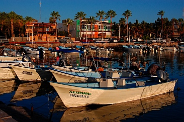 Loreto panga harbor, Baja California Sur, Sea of Cortez, Mexico