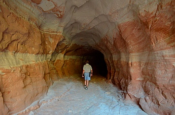 Cool cave, Mt. Carmel Junction, Utah