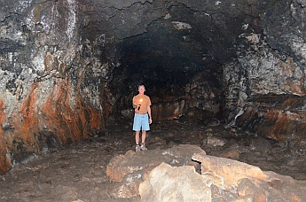 Inside Mammoth Cave, Dixie National Forest, Utah