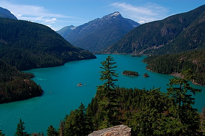 Diablo Lake, Washington.
