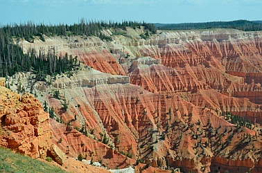 Chessmen overlook, Cedar Breaks National Monument, Utah