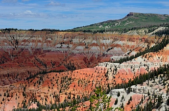 Red rock vistas, Cedar Breaks National Monument, Utah