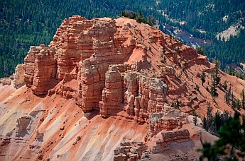 Chessmen at Cedar Breaks National Monument, Utah