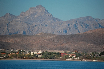 Beachside villas outside Loreto, BCS, Sea of Cortez, Mexico.