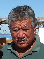 Manuel, resident, Isla Coyote, BCS, Sea of Cortez, Mexico.