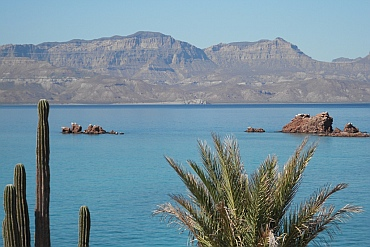 Baja view, Isla Coyote, BCS, Sea of Cortez, Mexico.