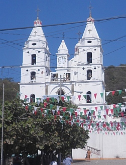 Cihuatlan Cathedral Costa Alegre (Gold Coast) Mexico